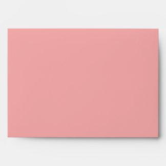 Sobre rosado y negro del modelo de Chevron