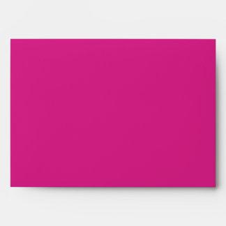 Sobre rosado y verde A7