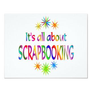 """Sobre Scrapbooking Invitación 4.25"""" X 5.5"""""""