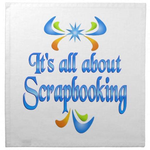 Sobre Scrapbooking Servilletas De Papel