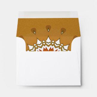 Sobre Sunlit de la tarjeta de nota de la mandala