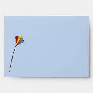 Sobre - tarjeta de las TRB - cometa