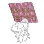 Sobre todo modelo abstracto rosado minicanasta