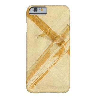 Sobre usado viejo y cinta pegajosa funda barely there iPhone 6