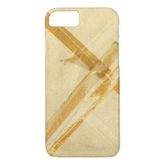 Sobre usado viejo y cinta pegajosa funda iPhone 7