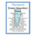Sobre Vermont Tarjeta Postal