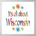 Sobre Wisconsin Poster