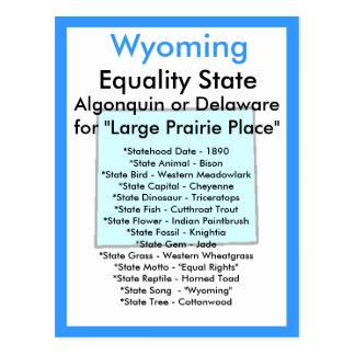 Sobre Wyoming Postales