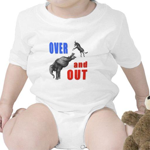 SOBRE Y HACIA FUERA ejemplo político Trajes De Bebé