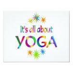 Sobre yoga comunicados personalizados