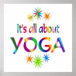 Sobre yoga poster
