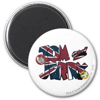Sobrecarga BRITÁNICA 2 de Tom y Jerry Imán Redondo 5 Cm