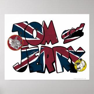Sobrecarga BRITÁNICA 2 de Tom y Jerry Póster