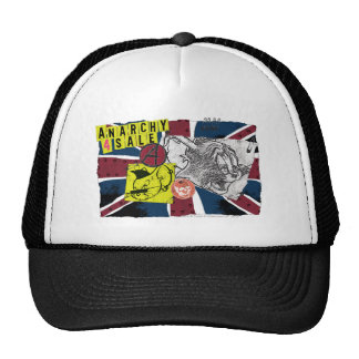 Sobrecarga BRITÁNICA Sex Pistols de Tom y Jerry Gorro De Camionero