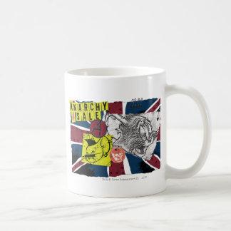 Sobrecarga BRITÁNICA Sex Pistols de Tom y Jerry Taza De Café