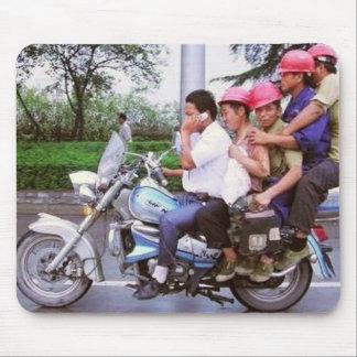 Sobrecarga de la motocicleta tapetes de ratones