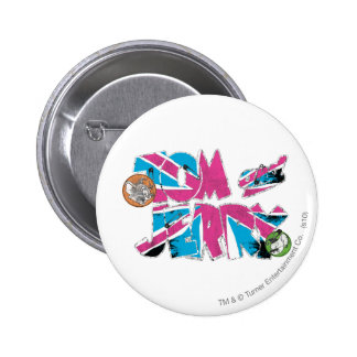Sobrecarga de Tom y Jerry Reino Unido Pin Redondo 5 Cm