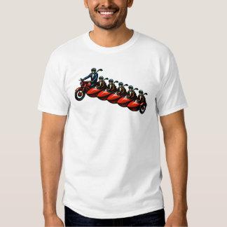 Sobrecarga del coche lateral remera