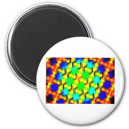Sobrecarga sensorial imán redondo 5 cm