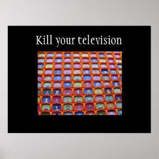 Sobredosis de la televisión póster