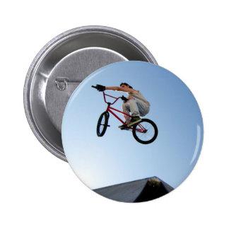 Sobremesa del truco de la bici de BMX Pin
