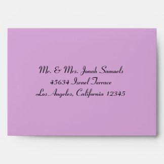 Sobres de la tarjeta de felicitación de la tapicer