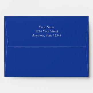 Sobres de la tarjeta de la invitación o de felicit