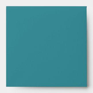 Sobres de lino azules del trullo