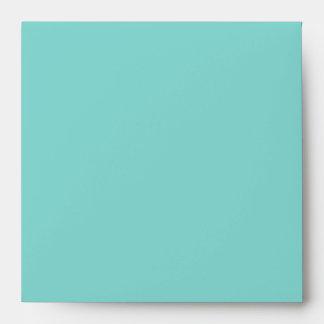Sobres de lino azules del trullo puro