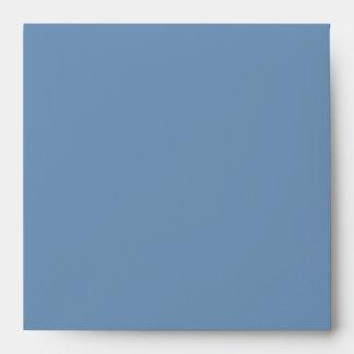 Sobres de lino azules puros