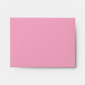 Sobres de lino negros rosados de RSVP