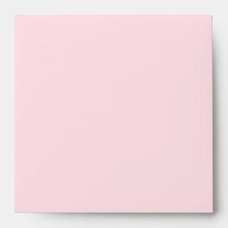Sobres de lino rosados y grises elegantes