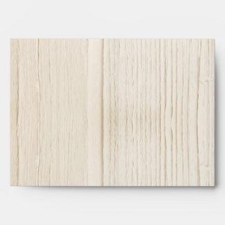 sobres de madera blancos rústicos