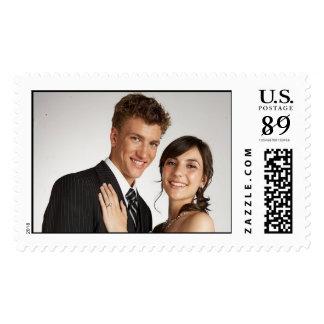 Sobres de moda nupciales más peso timbre postal