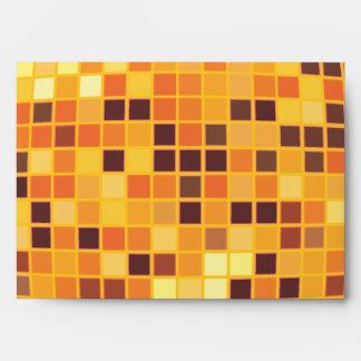 Sobres de oro retros de encargo frescos de la bola