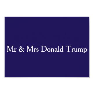 """Sobres del blanco de la firma de Sr. y de señora Invitación 5"""" X 7"""""""