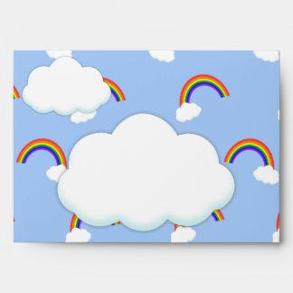 Sobres del modelo del arco iris