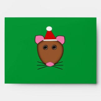 Sobres del personalizable del ratón de las Felices