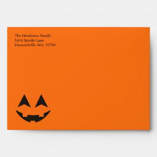 Sobres del personalizado de Halloween A7