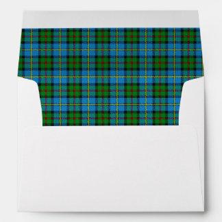 Sobres escoceses de los sueños del tartán de
