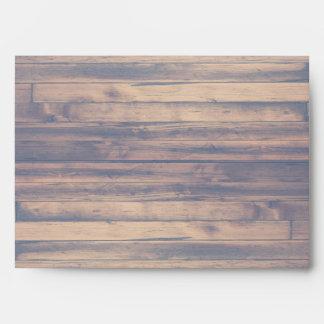 Sobres estándar de la tarjeta del acento azul de