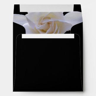 Sobres - Gardenia en negro