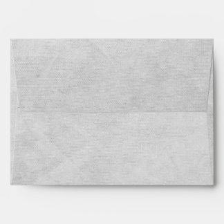 Sobres grises de la tarjeta de felicitación del na