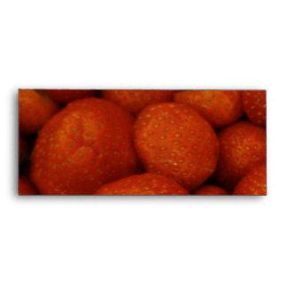 Sobres jugosos de las fresas