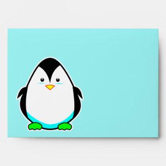 Sobres lindos del pingüino