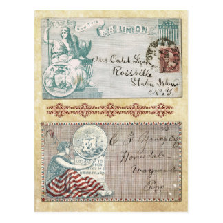 Sobres matasellados de la guerra civil con postal