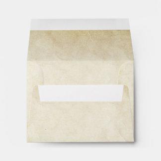 sobres para casar el viejo estilo de papel de RSVP