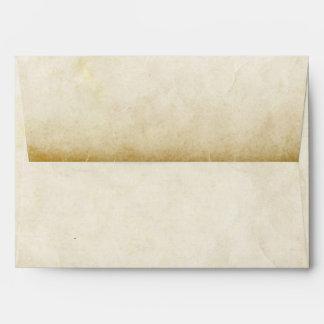 sobres para casar viejo estilo de papel de las inv