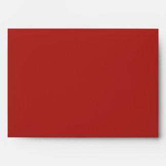 Sobres rojos A7 de la MOD Mehandi