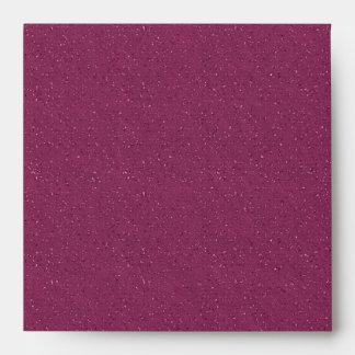 Sobres rojos magentas elegantes del lino del brill